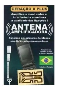 Antena Adesiva De Sinal Celular Tim Vivo Oi Claro Rural Rede