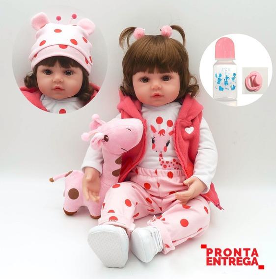 Pronta Entrega Bebe Reborn Boneca 48cm Entrega Garantida