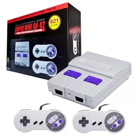 Console Super Mini Nintendinho Retro 8 Bits C/ 821 Jogos