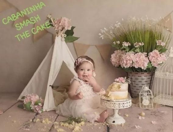 Acessorios Newborn Cabaninha Tecido Ensaio Fotográfico E Aco