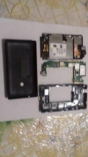 Kit De Peças Lumia 520 Preto - Leia A Descrição (23)
