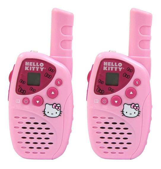 Radios Walkie Talkie Hello Kitty Kt2022 De Sanrio Original