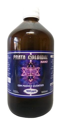 Imagem 1 de 4 de Prata Coloidal Nano 100ppm 500ml