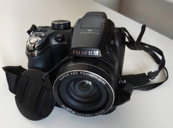 Câmera Fujifilm Finepix S4900 + Case + Cartão 8gb