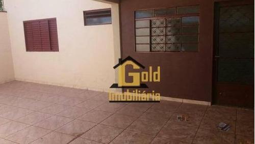 Casa Com 2 Dormitórios À Venda, 80 M² Por R$ 410.000,00 - Ipiranga - Ribeirão Preto/sp - Ca0310