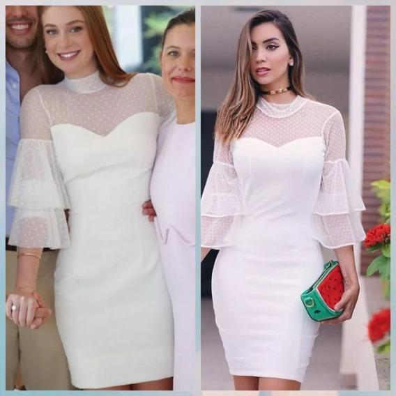 Vestido Casamento Civil Noivado Off White Marina Rui Barbosa