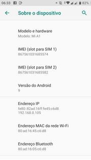 Smartphone Xaomi A1. 4de Ram .64m.android 9