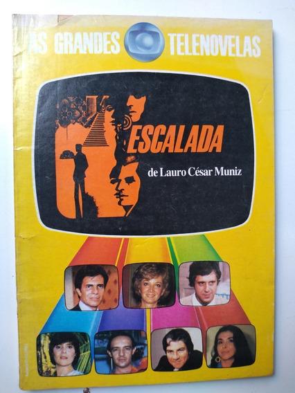 Livro - As Grandes Telenovelas Escalada Lauro César Muniz