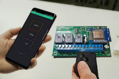 Modulo Alarma Vecinal, Comunitaria Por Wifi + App Celular