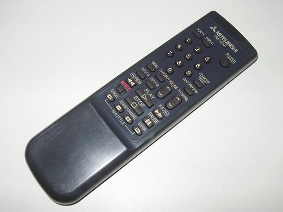 Controle Remoto Vcr Videocassete Mitsubishi Original Rm62501