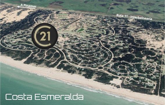 Costa Esmeralda - Vende Lote 1000 M2, Zona Deportiva I