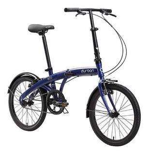 Bicicleta Dobrável Portátil Durban Eco Frete Grátis Brasil