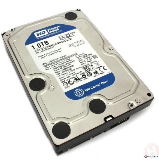 Disco Rigido 1tb Blue Wd Western Digital 64mb 7200rpm