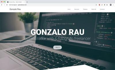 Desarrollador Web, Bootstrap, Wordpress, Landing Page