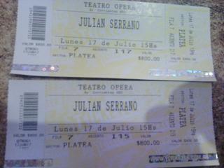 Entradas Julian Serrano (2)