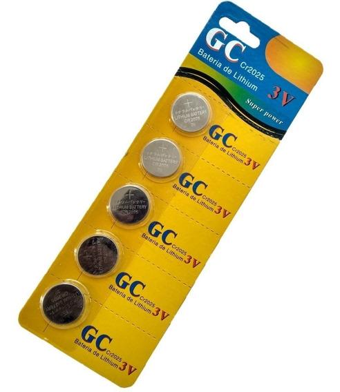 Bateria 3v Lithium - Cr 2025 - Gc Super Power