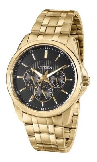 Relógio Citizen Masculino Gents Tz20395u Aço Dourado Origina