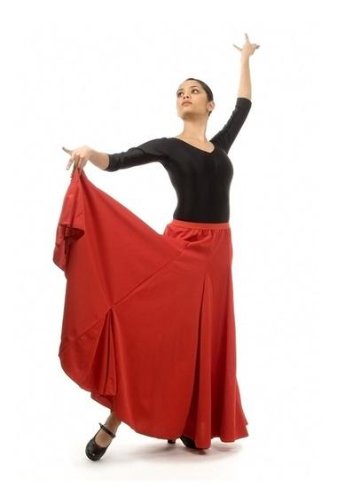 Andanzza Falda Flamenco Gajos Para Dama Baile Bejar Dance