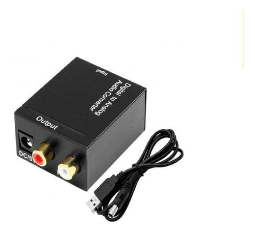 Imagen 1 de 3 de Adaptador De Audio Optico