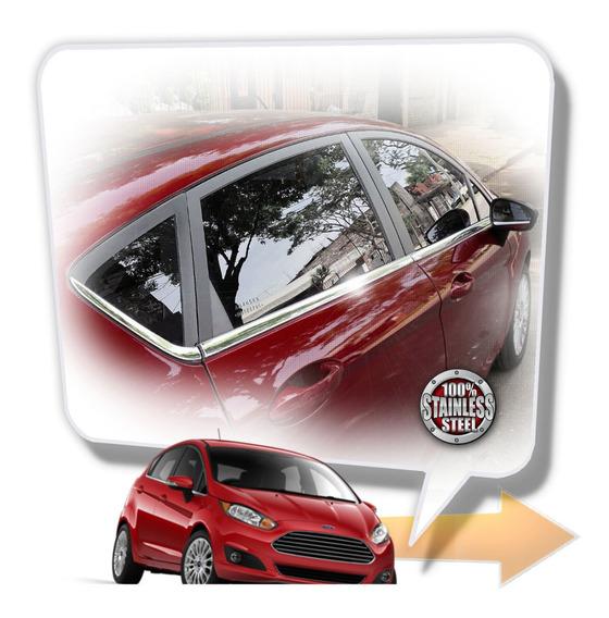 Fiesta Kinetic 2011 18 Colizas Acero Inoxidable Tuningchrome