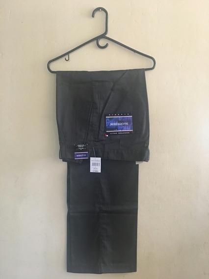 Mcgordon Pantalon De Vestir Hombre Green Talla 32 W Original