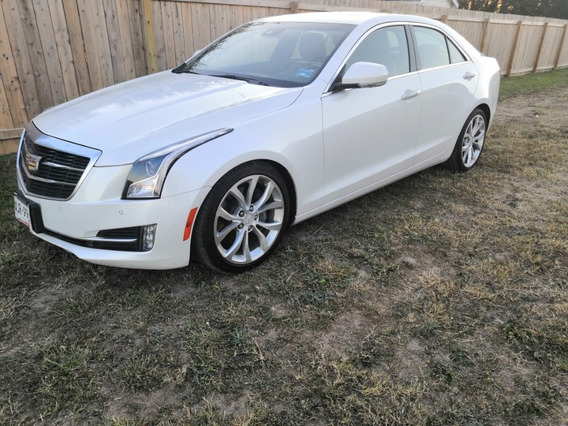 Cadillac Ats 2016 Impecable