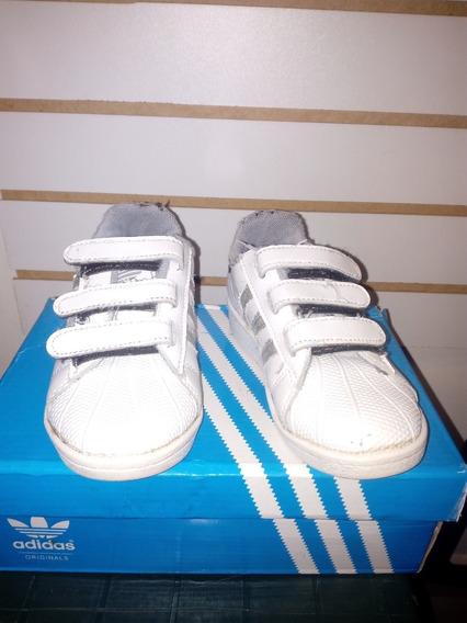 Zapatos Escolares Deportivos N° 27 Superstar Usados