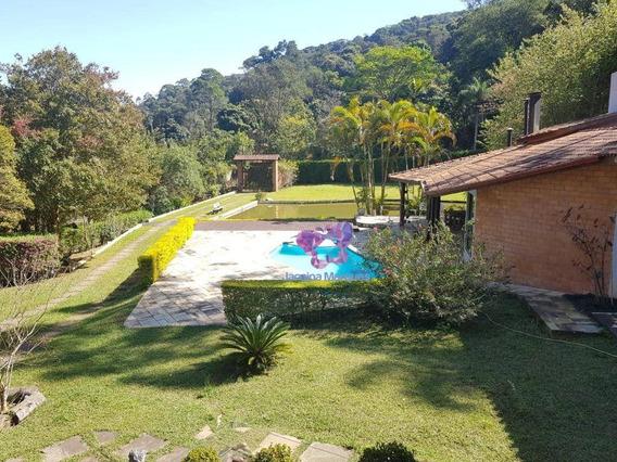 Belíssima Chácara Com Lago, Com 3 Dormitórios Sendo 1 Suíte, Bairro Da Lagoa/sp. - Ch0095