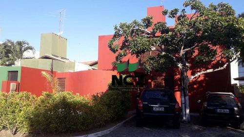 Imagem 1 de 30 de Casa Com 4 Dormitórios À Venda, 250 M² Por R$ 849.000,00 - Miragem - Lauro De Freitas/ba - Ca3410