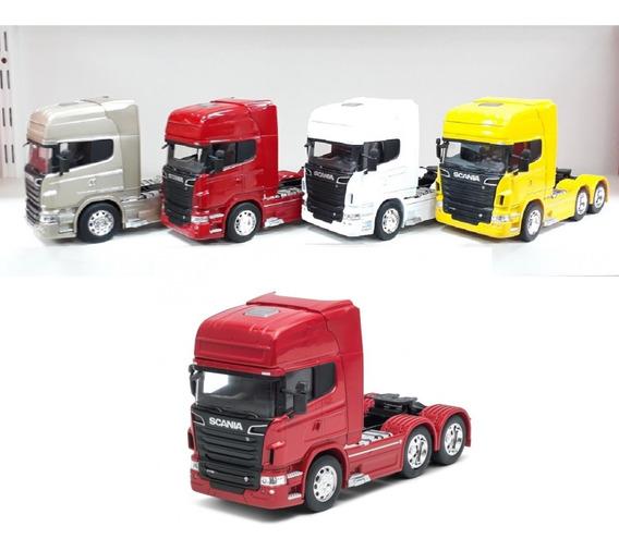 Miniatura Caminhão Scania V8 R730 Trucado Escala 1:32 P/e