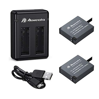 Bateria Y Cargador Powerextra De 2 X 1500 Mah Compatibles Co