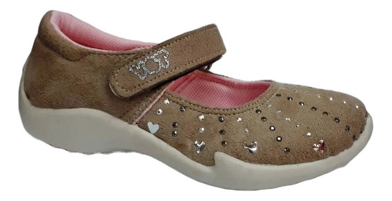 Zapatilla Ballerina Beige Toy (talle 27 Al 35) Art 3253be