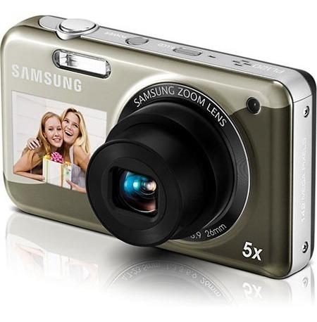 Câmera Digital Sansung Pl120 14.2 Mp Cinza