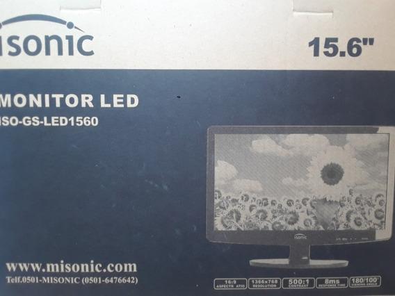 Monitor Isonic 15.6 Pulgadas ( Nuevo En Caja )