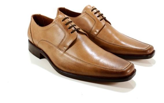 Zapato Hombre Cuero Color Suela Diseño Fazio By Ghilardi