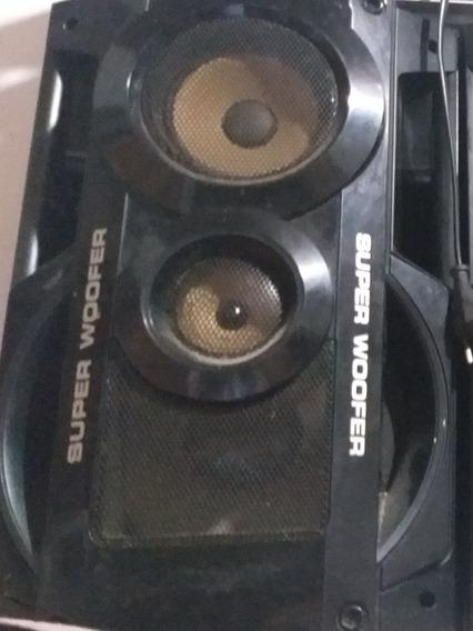 2 Caixas De Som E Uma Sub Panasonic