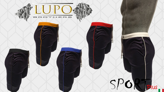 Short Sport Plus (xl, Xxl, Xxxl) Lupo Brothers Con Envío