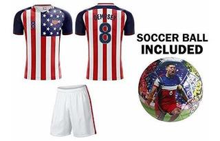 United States World Cup Team Usa - Camiseta De Fútbol Para