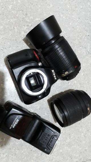 Câmera Nikon 5100 E Lentes