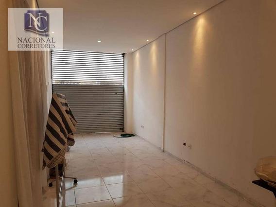 Salão Para Alugar, 100 M² Por R$ 3.500,00/mês - Santa Paula - São Caetano Do Sul/sp - Sl0769