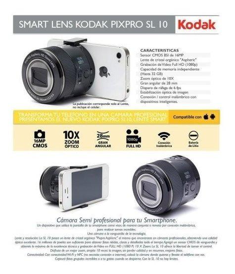 Cámara Digital Kodak Pixpro Sl10 Excelente Estado