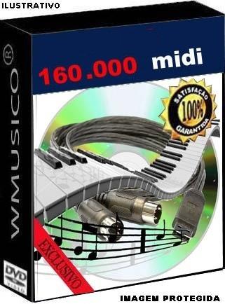 160.000 Midis - Teclados Yamaha Roland Korg Casio Technics