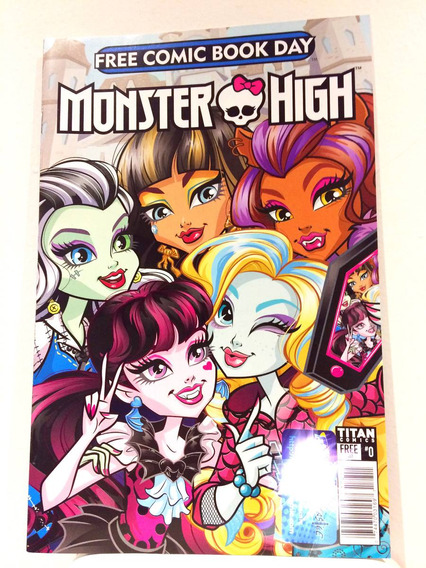 Monster High Free Comic Book Day 2017