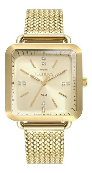 Relógio Feminino Technos Dourado 2036mme/4x