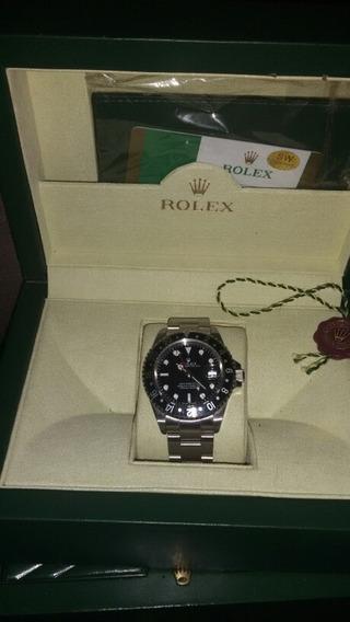 Relogio Rolex Pulseira Aço Inox Masculino Altomatico
