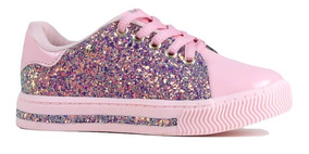 Tenis Pampili 08/2018 473.006 Rosa Glace