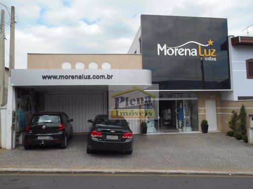 Salão Comercial À Venda, Jardim Nossa Senhora De Fátima, Nova Odessa. - Sl0589