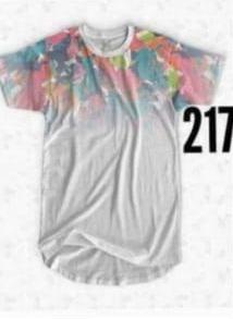 T Shirt Blusa Rainbow