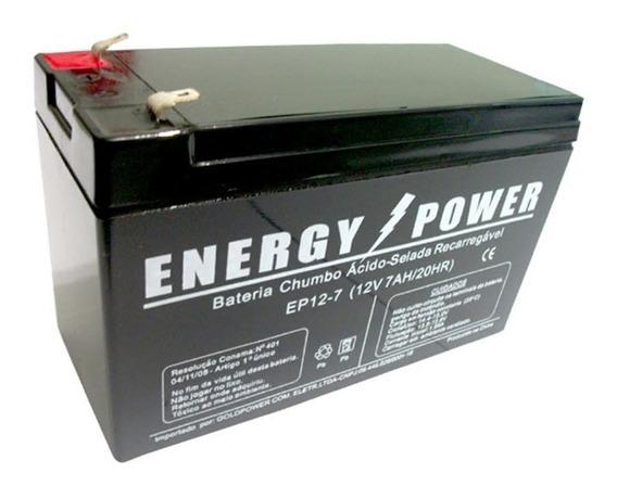 Bateria 12 V 7.0 Amp Chumbo