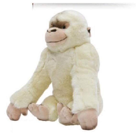 Macaco Gorila De Pelúcia Bichinho Safari Anti Alergico Lindo